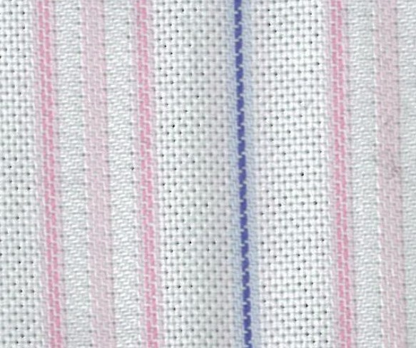 Pale White on Shades of Pink With Blue Chain