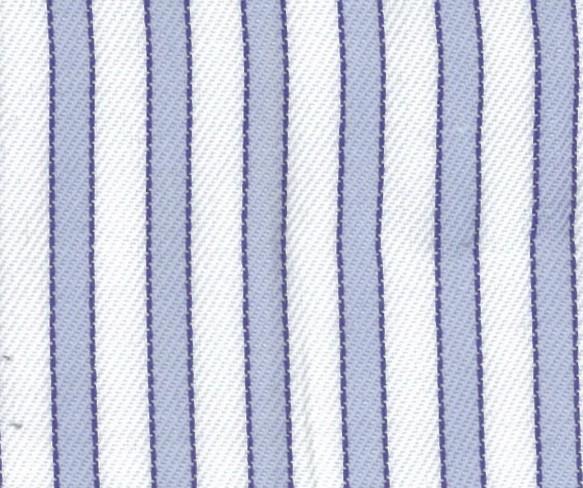 Greyish Blue/ White